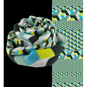 Scarf - Escapade Cubes