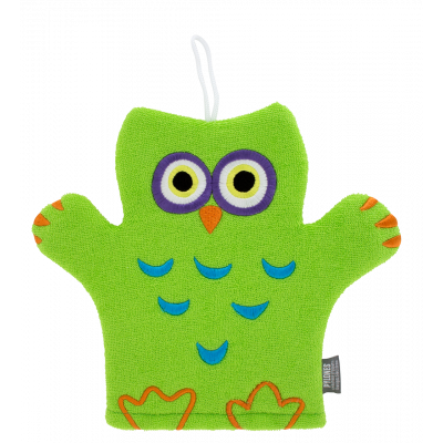 Hello – Wash mitt Green