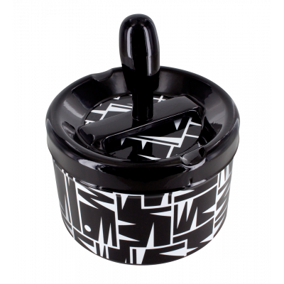 Push-button ashtray - Pousse Pousse Man