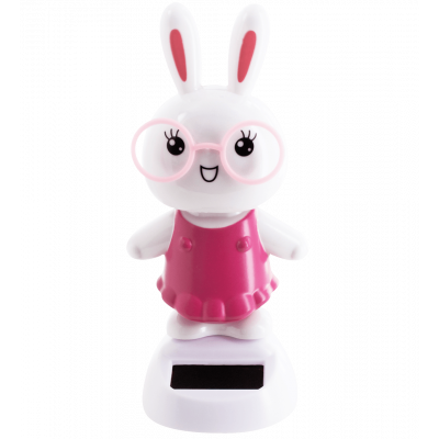 Solar powered dancing figurines - 1-2-3 Soleil Rabbit