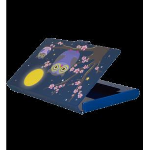 Porte cartes de visite - Busy Blue Owl