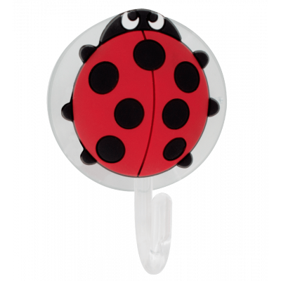 Suction hook - Ani-holder Ladybird