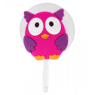 Suction hook - Ani-holder Owl