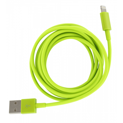 Iphone cable - Usb Xl Green
