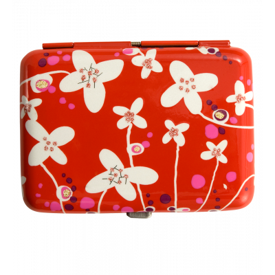 Zigarettenetui - Cigarette case White Flower