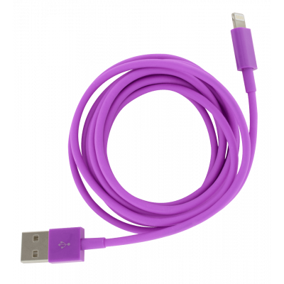 Iphone cable - Usb Xl Purple
