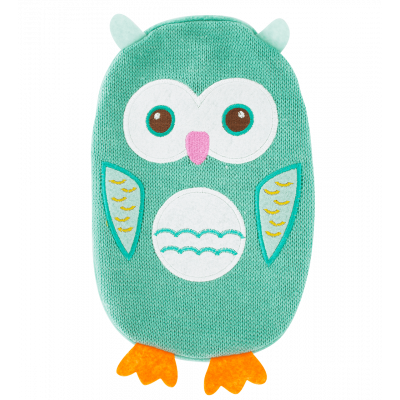 Hot water bottle - Hotly Owl Blue
