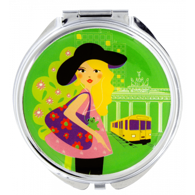 Lady Look - Pocket mirror Berlinoise