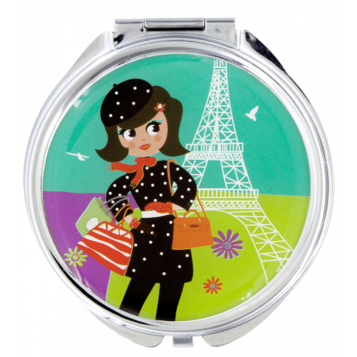 Pocket mirror - Lady Look Parisienne