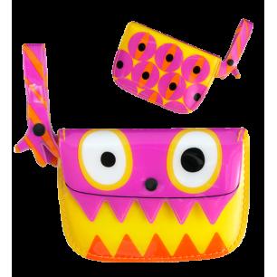 SPA Clip Clop - Purse Pink / Yellow