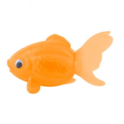 Pencil Sharpener - Goldfish Orange