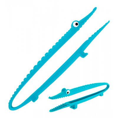 Croc'odile - Kitchen tongs Blue
