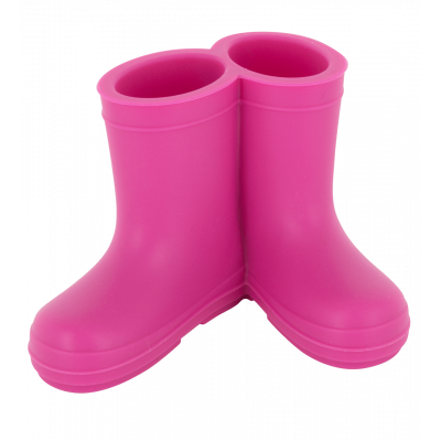 Toothbrush holder - Boots Teeth Pink