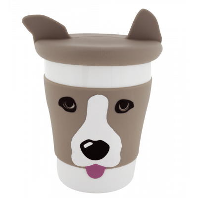 Mug and lid - Trophy Mug Dog