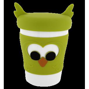 Trophy Mug - Mug and lid Owl