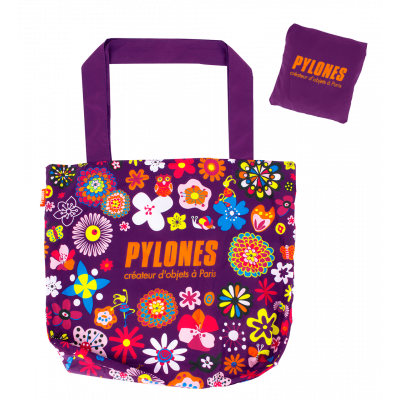 Shopping bag - Pylones Shopping Purple