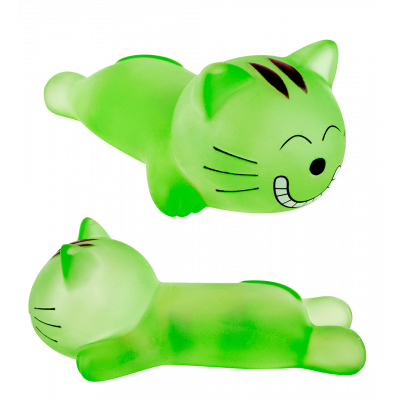 Relax - Wrist rest Green Cat