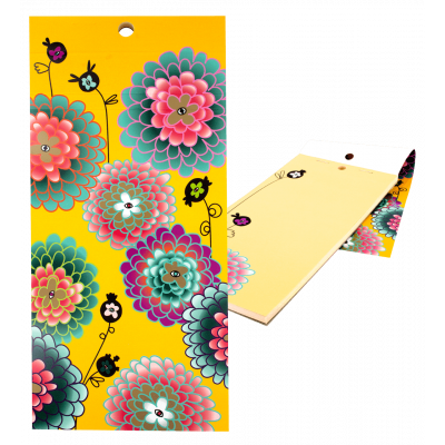 Magnetic memo block - Notebook Formalist Dahlia