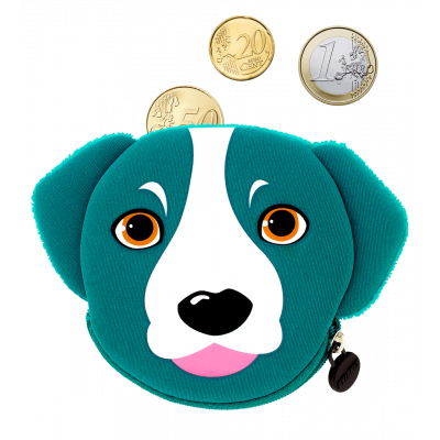 My Coins - Porte-monnaie Blue Dog