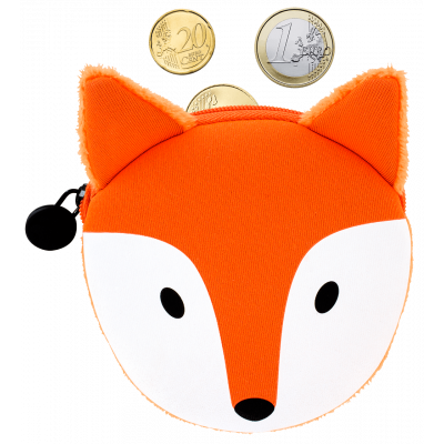 Purse - Cat My Coins Fox