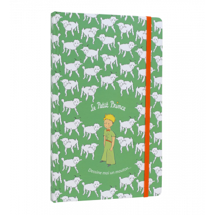 A5 notebook - Dessine moi Green