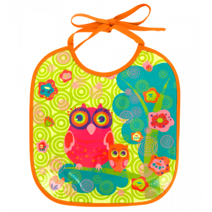 Lätzchen - Petit Glouton Owl