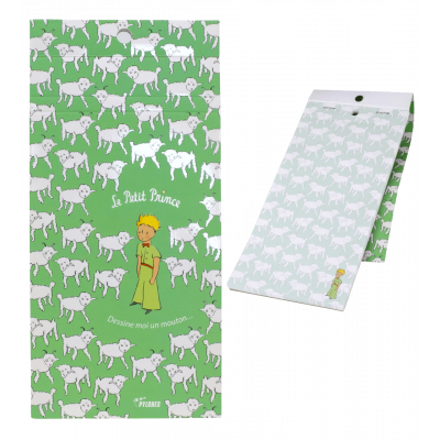 Magnetic memo block - Formalist The Little Prince Green