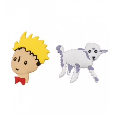 Set of 2 magnets - The Little Prince Mouton