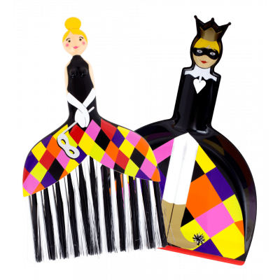 Cendrillon - Dustpan and brush Arlequin