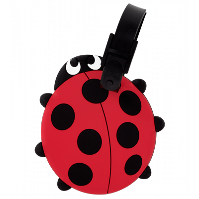 Luggage label - Ani-luggage Ladybird