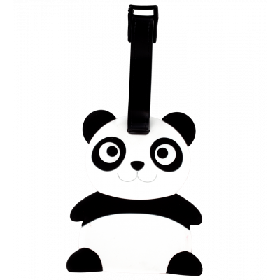 Luggage label - Ani-luggage Panda