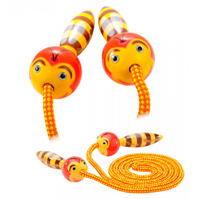 Skipping rope - Sauterelle Bee