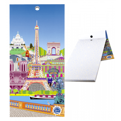 Magnetic memo block - Notebook Formalist New Paris
