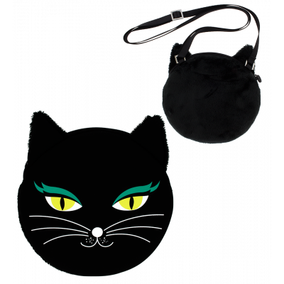 Shoulder bag - My Bag Black Cat