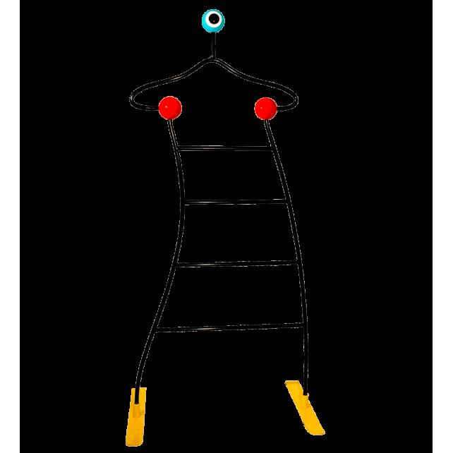 Valet de chambre / de nuit design 60\'s - Valeski Noir - Pylones