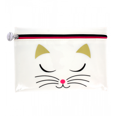 Trousse à maquillage - Akademik White Cat
