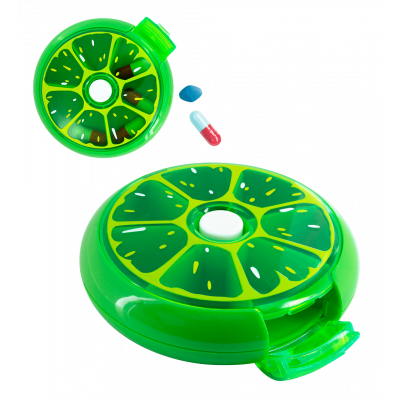 7 day pillbox - Spin Doctor Citron