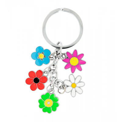 Charms - Keyring Flower