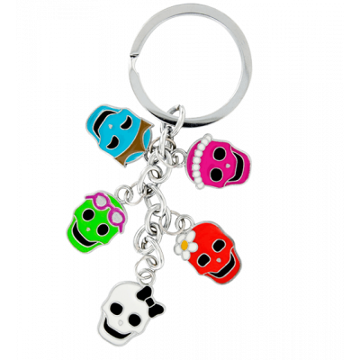 Charms - Keyring Skeleton