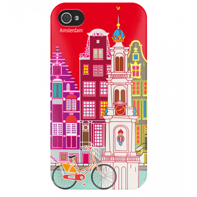 I Cover 4 - Cover per iPhone 4/4S Amsterdam