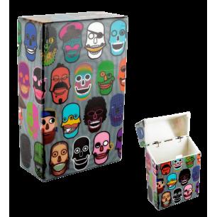Etui pour paquet de cigarettes - Clop'in Skull 3