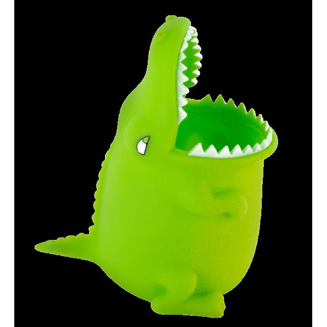 Pencil and pen holder / Toothbrush Holder - Popet Crocodile