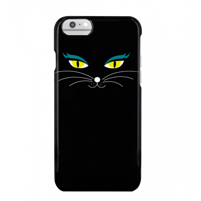 Coque pour iPhone 6/6S/7 - I Cover 6/7 Black Cat