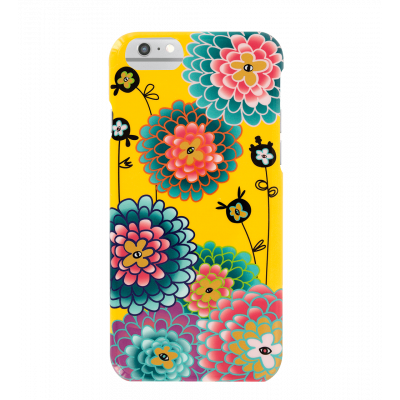 Coque pour iPhone 6/6S/7 - I Cover 6/7 Dahlia