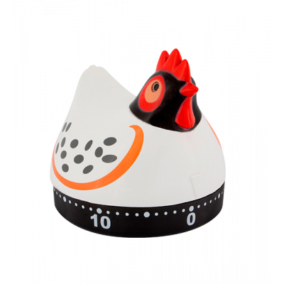 Timer da cucina - On Time Gallina bianca