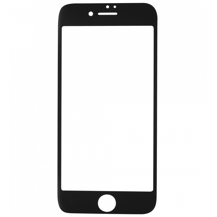 Glass screen protector for iPhone 6/7 , I Protect Black
