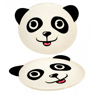 Piatto in bambù - Bambooni Panda