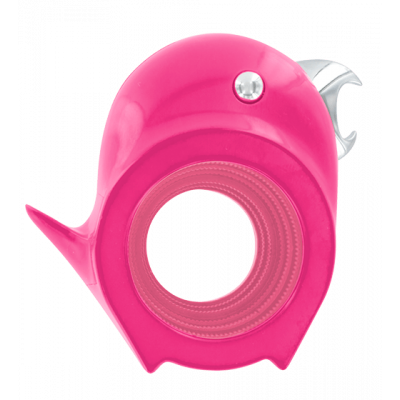 2 in 1 corkscrew and bottle opener - Tweetie Pink