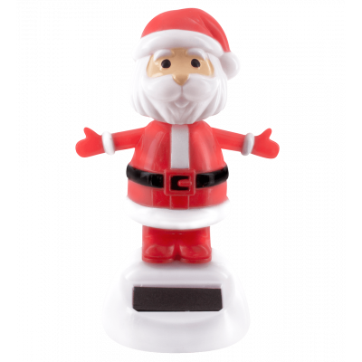 Solar powered dancing figurines - 1-2-3 Soleil Santa Claus