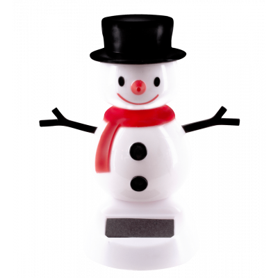 Solar powered dancing figurines - 1-2-3 Soleil Snowman 1